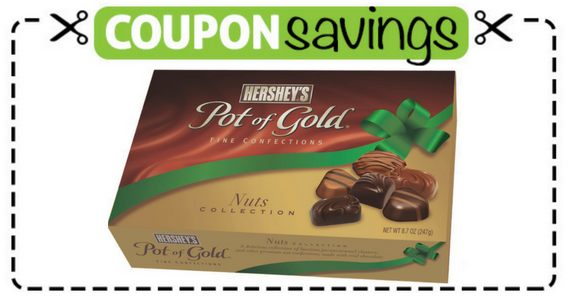 Save $1 off Hershey's Pot of Gold