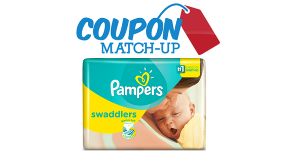 Pay Only $5.97 for a Jumbo Pack of Pampers Swaddlers