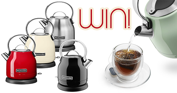 Win a KitchenAid Electric Kettle
