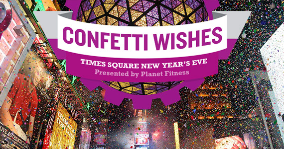 Send Your New Year's Wish Soaring Over Times Square