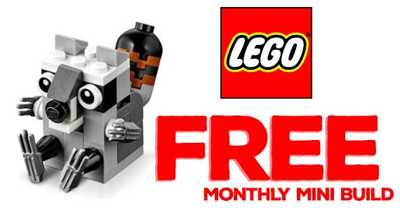 Free LEGO Mini Model Build Event