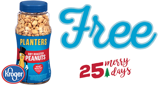Free Planters Dry Roasted Peanuts From Kroger – Today Only