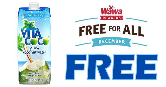 Free Vita Coco Coconut Water – Today Only!
