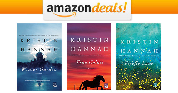 Select eBooks by Kristin Hannah Only $3.99
