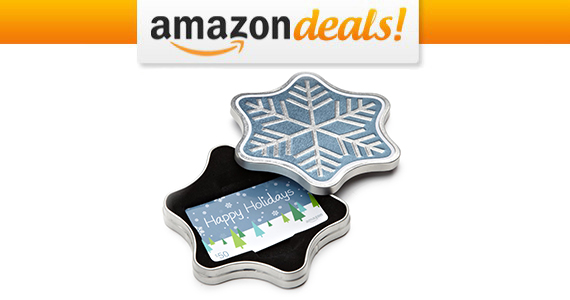 Get a FREE Snowflake Tin With Amazon Gift Card Purchase