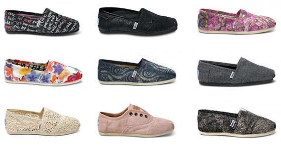 Win a $250 TOMS Shoes Shopping Spree
