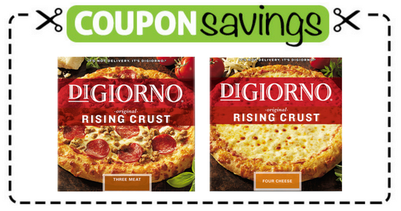 Buy 2 DiGiorno Pizzas, Get 1 Free
