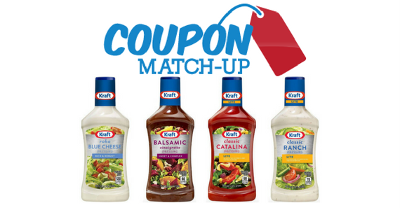 Pick Up KRAFT Salad Dressing for only $1.29