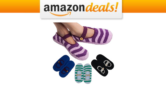 Get 4 Pairs of Slipper Socks For Only $10.36