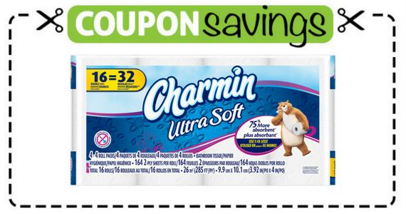 Save $1 off one Charmin Bathroom Tissue