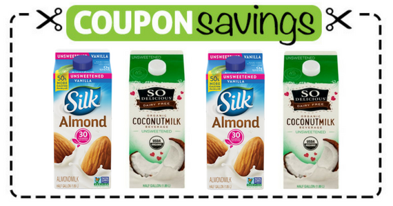Save $2 off any 2 Silk or So Delicious Half Gallons