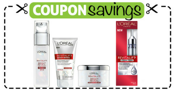 Save $2 off one L'Oréal Revitalift Skincare Product