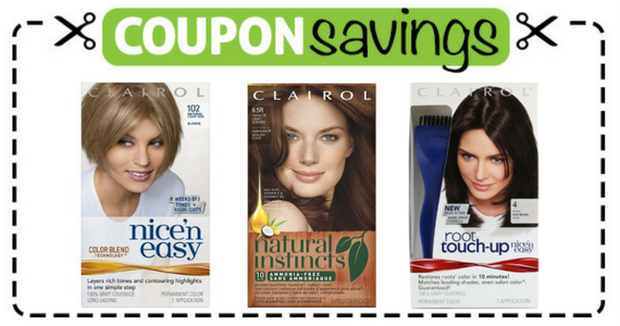Save $5 off any 2 Clairol Hair Color Products
