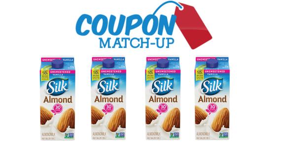 Silk Almond Milk Only $1.59 Each at Target