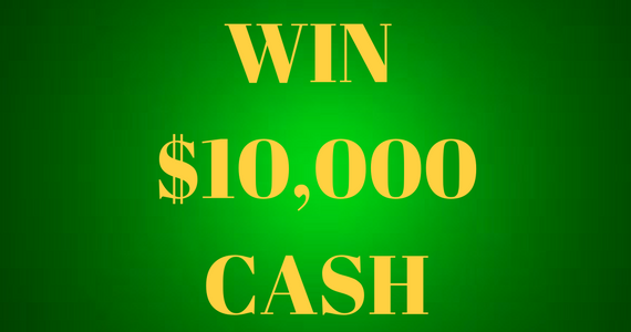 Win $10,000 Cash or Instant Win Prizes