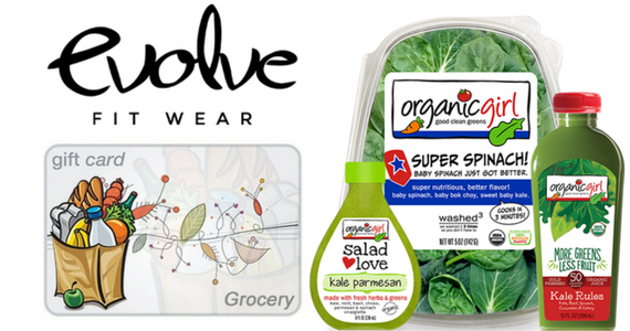 Win OrganicGirl for a Year, $100 Grocery Gift Card