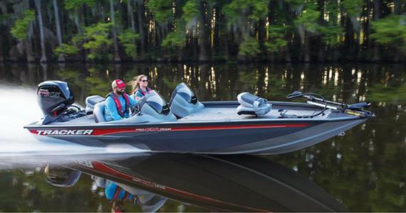 Win a Tracker Bass Fishing Boat