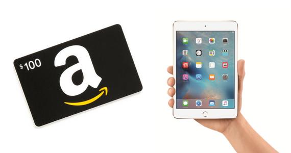 Win an iPad Mini and a $100 Amazon Gift Card