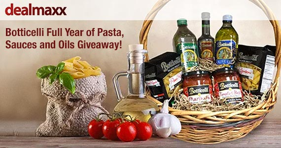 Win a Year of Botticelli Pasta & More