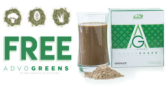 Free Sample of AdvoGreens From AdvoCare