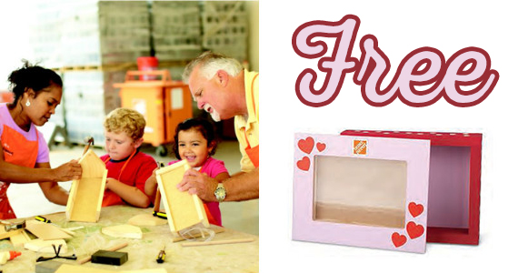 Valentines Photo Box – Kid's Clinic At Home Depot