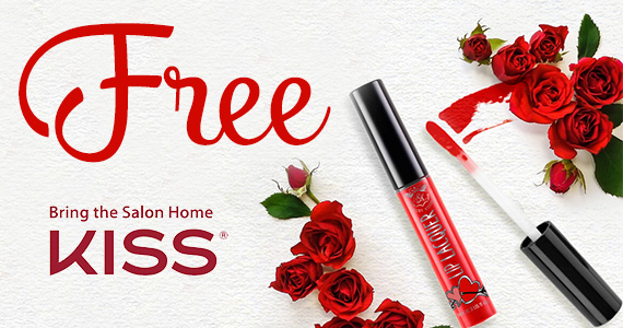 Possible Free KISS Lip Laquer