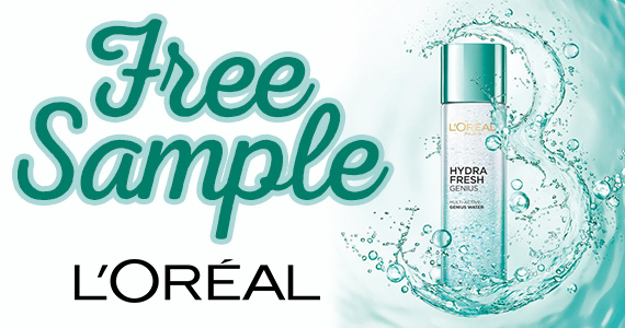 Free Sample of L'Oreal Hydra-Genius