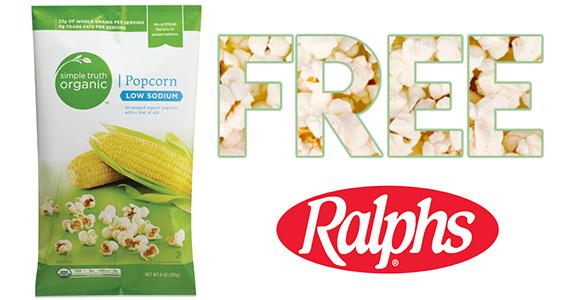 Free Simple Truth Popcorn At Ralphs