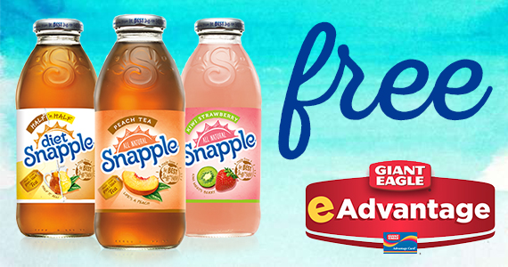 Free Snapple From Giant Eagle