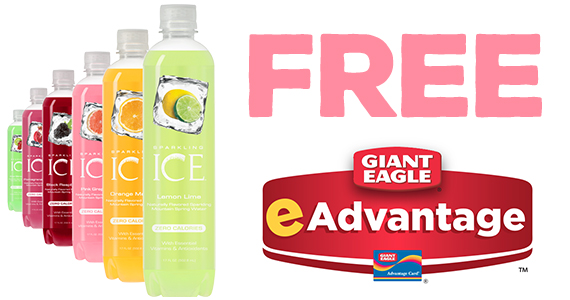 Free Sparkling Ice Drink From Giant Eagle