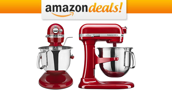 Get a KitchenAid Professional Stand Mixer For $265.99