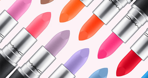 MAC Launches 28 New Rainbow Lipstick Shades