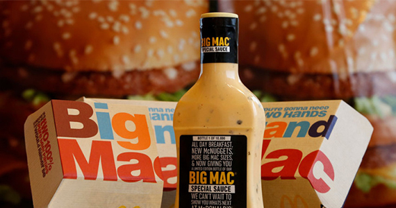You Could Score a FREE Bottle of Big Mac Sauce
