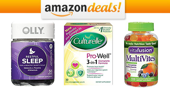 Save 35% off Vitamins and Supplements