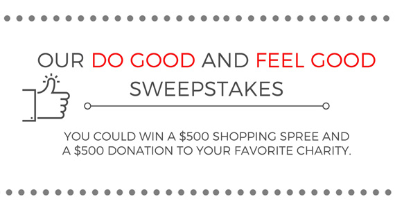 Win $500 For You and $500 For Charity