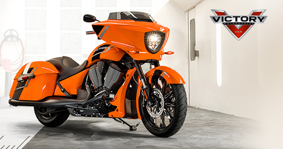 Win a Victory Magnum Motorcycle