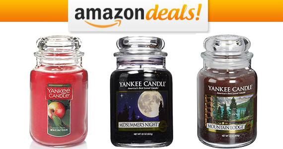 Save up to 40% off Select Yankee Candle Large Candles