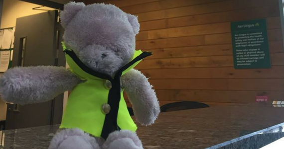 Airport Adorably Tries to Reunite Lost Teddy & Owner