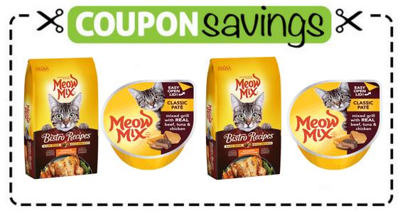 Buy 1 Meow Mix Bistro, Get a FREE Paté/Wet