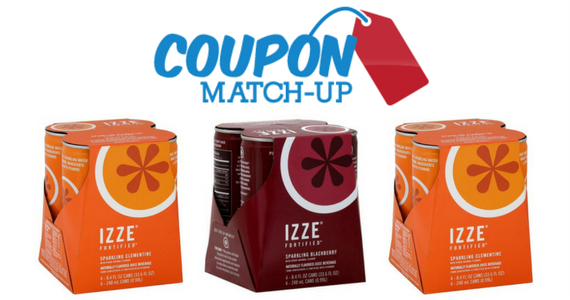 IZZE Sparkling Juice Just 24¢ a Can!