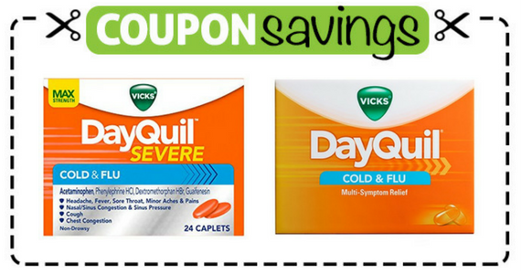 Save $1 off DayQuil