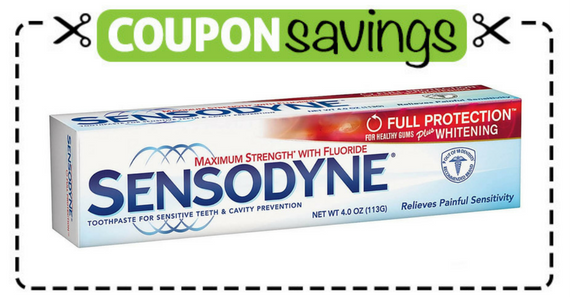 Save $1 off Sensodyne