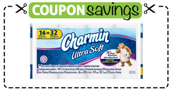 Save $1 off Charmin Ultra Soft or Strong 16 Double Roll
