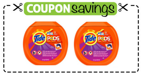 Save $2 off one Tide Pods