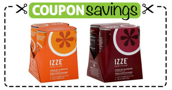 Save $2.50 off any 2 IZZE 4-Packs