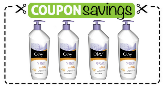 Save 50¢ off Olay Hand & Body Lotion