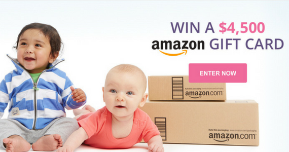 Win a $4,500 Amazon Shopping Spree