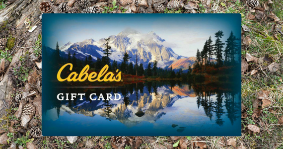 Win a $500 Cabela's Gift Card