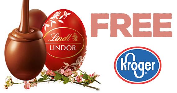 Free Lindt Lindor Milk Egg From Kroger