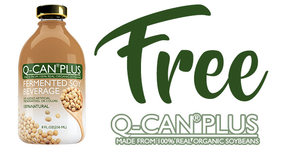 Free Q-Can Plus Soy Beverage Sample